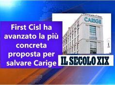 Il Secolo XIX, Colombani, abbiamo avanzato concreta proposta salvataggio Carige