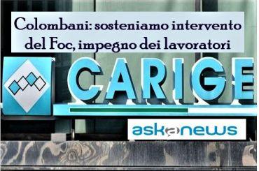 Askanews su Carige, First Cisl, ok decisione Fitd, serve soluzione di sistema