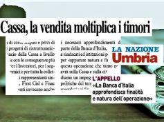 Cariorvieto, timori per cessione, Banca d'Italia vigili