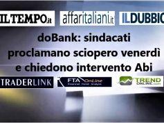 Non c'è accordo sul piano industriale e in doBank si sciopera