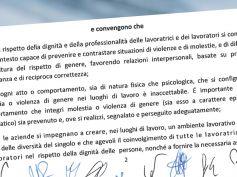 Assicurativi, la dichiarazione congiunta su molestie e violenze di genere