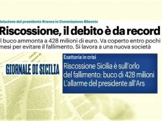 Crisi Riscossione Sicilia, First Cisl, va esclusa ogni ipotesi di chiusura