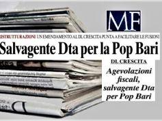 MF, in Banca Popolare di Bari i sindacati chiedono soluzioni rapide ed efficaci