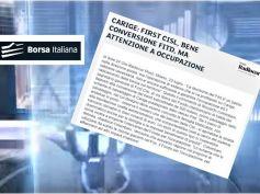 Borsa Italiana su Carige, Colombani, costi enormi se fallisce piano salvataggio