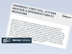 Borsa Italiana su tagli UniCredit, Colombani, lettera Mustier non ci rassicura