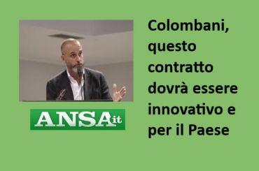 Ansa su ccnl banche, Colombani, bisogna tornare a investire sul capitale umano