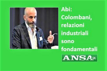 Ansa, Colombani, Abi dia piena attuazione ad accordo su pressioni commerciali