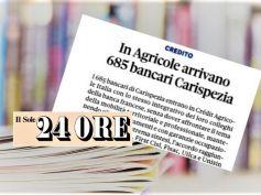 Il Sole 24 ORE, accordo firmato, in Carispezia l'integrativo di Crédit Agricole