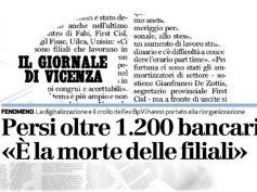 Il Giornale di Vicenza, crollo popolari e digitalizzazione riducono organici