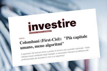 Investire Magazine su ccnl, Colombani, più capitale umano, meno algoritmi