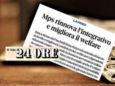 First Cisl, con accordo in Mps volontà di ricompensare sacrifici dipendenti