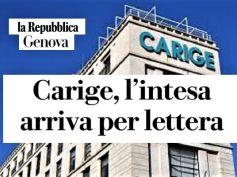 La Repubblica su Carige, sindacati, momento delicato, al via le assemblee