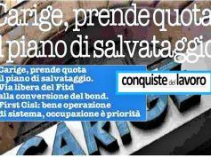 Conquiste del Lavoro su Carige, Colombani, l'occupazione è la nostra priorità