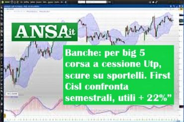 Ansa 1, First Cisl e semestrali banche, Colombani, cessione Utp scure sportelli