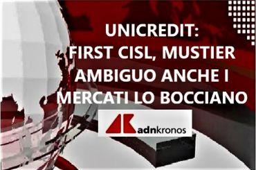 Colombani ad AdnKronos, su turnover in UniCredit Mustier non chiarisce