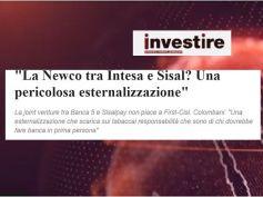 InvestireMag, Banca 5 e Sisal unite, Colombani, esternalizzazioni da arginare