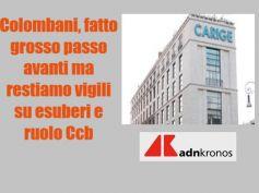 AdnKronos, Carige salva, Colombani, buona notizia per lavoratori e territorio