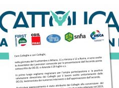 Cattolica assicurazioni, sottoscritto accordo ponte per le aziende del gruppo