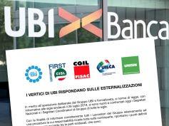 I vertici di Ubi Banca rispondano sulle esternalizzazioni