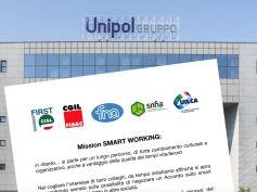 Gruppo Unipol, inizia il confronto sullo smart working