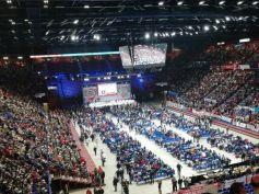 Diecimila delegati da tutta Italia all'assemblea nazionale di Cgil, Cisl e Uil