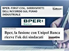 Borsa Italiana e Investiremag, First Cisl, ok piano Bper, occupazione tutelata