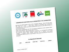 Rinnovo contratto, i sindacati, il 25 e 30 ottobre da Abi risposte chiare