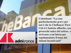 Adnkronos, CheBanca!, First Cisl, inaccettabile taglio 30% premi lavoratori