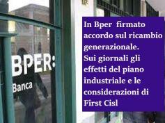 Accordo Bper sui giornali, firma per ricambio generazionale e occupazione