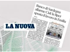 Banco di Sardegna, allarme First Cisl, altro lavoro bancario a rischio