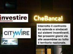 CheBanca! taglia premi a dipendenti, First Cisl, stop a confronto con azienda