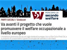 Welfare occupazionale, First Cisl e Fim Cisl unite in un progetto europeo