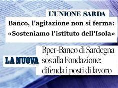 Piano Bper, sindacati lanciano sos, Fondazione Sardegna difenda lavoro con noi