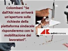 Adnkronos, nuovo Ccnl banche, First Cisl, senza aperture Abi sarà mobilitazione