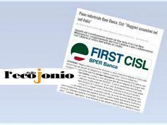 Piano Bper, Cisl e First Cisl, più assunzioni nel mezzogiorno, banca agisca