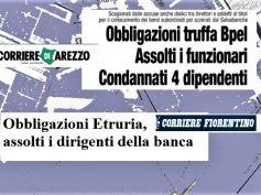 Bond Etruria, l'interesse dei giornali tra assoluzioni e condanne