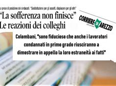 Bond Etruria, sul Corriere di Arezzo le reazioni alla sentenza
