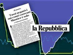 La Repubblica, su tassi negativi in UniCredit Mustier è solo