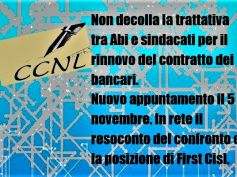 Trattativa Ccnl banche, anche sui quotidiani on line netta posizione First Cisl