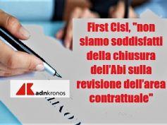 AdnKronos su Ccnl banche, First Cisl, necessaria trasparenza su parte economica