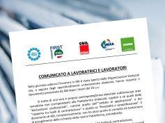 Rinnovo contratto, il comunicato unitario delle segreterie nazionali