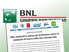 Bnl, 7 novembre sit in e assemblea a Firenze per le condizioni di lavoro
