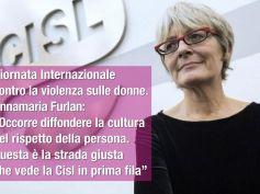 Giornata internazionale contro violenza donne, Furlan, diffonderne la cultura
