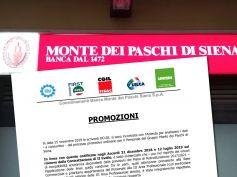 Mps, comunicato sindacale sulle recenti promozioni