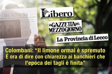 Studio First Cisl su trimestrali banche italiane, grande impatto sulla stampa