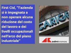 AdnKronos su Carige, First Cisl, con l'accordo ridotto il numero degli esuberi