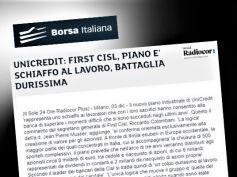 Borsa Italiana, Colombani, piano UniCredit è schiaffo al lavoro
