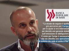 Popolare Bari, Colombani, va superato stallo governo, tuteleremo i lavoratori