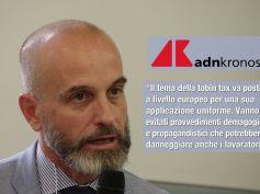 AdnKronos, Colombani su Tobin tax, no a demagogia, tema di portata europea