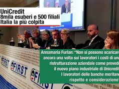 UniCredit, Furlan, tagliare 8mila posti è una linea irresponsabile